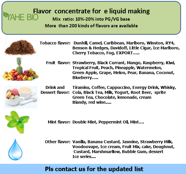 e juice liquid concentrated flavor
