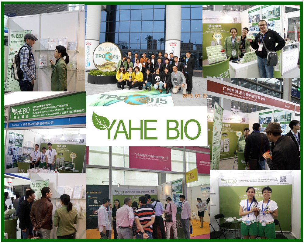 YAHE flavor & fragrance sales team in Canton Fair