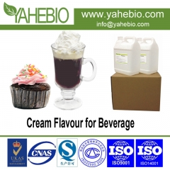 cream flavour for beverage