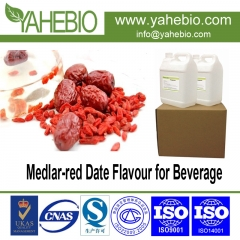 Medlar-red Date flavor concentrate for beverage product